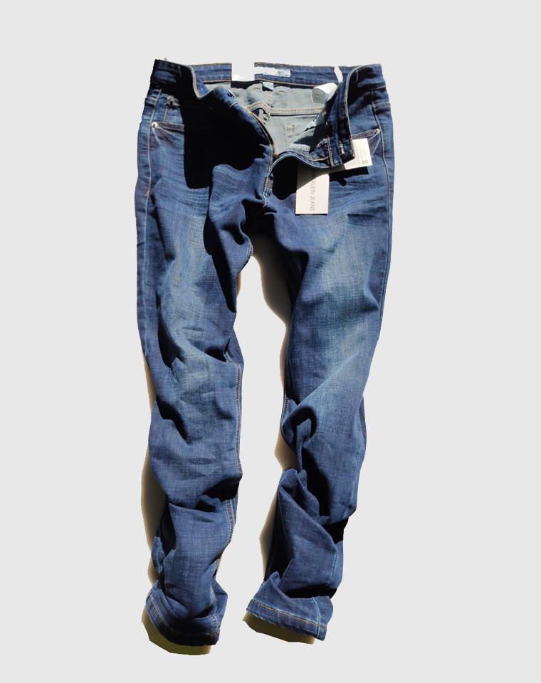 给纯爷们的福利  专柜千元!!!仅128元  美国Calvin Klein Jeans纯正原单  男士水洗磨白 休闲商务 高品质牛仔裤 直筒仔裤