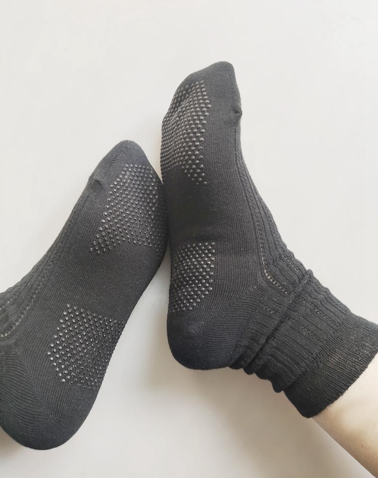 回馈!仅3.8元  外贸订单  防滑外贸松口小黑袜