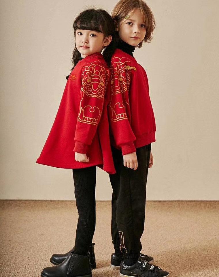 年终钜惠  亲妈必收  过年要喜庆!!!仅89元  99元   超级推荐 兄妹加绒套装