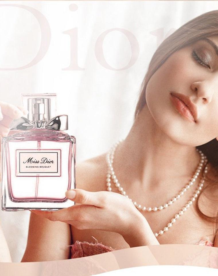 浪漫与甜美的融合  仅145元  Dior迪奥   花漾甜心女士香水柔和花香调淡香 EDT 100ml