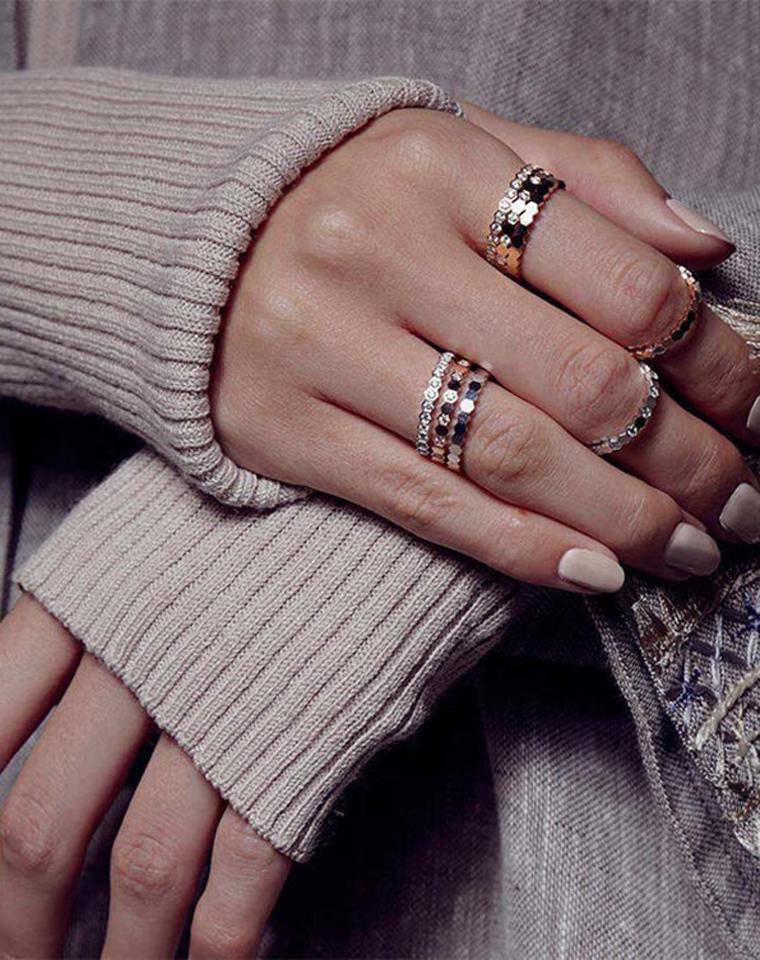 超级好货!!仅188元 198元 228元 248元  CHAUMET特殊渠道 真的好美!玫瑰蜂巢系列金戒指