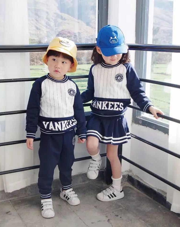 亲妈必收 男女童都有!太优秀!!仅98元 MLB超人气儿童套装!