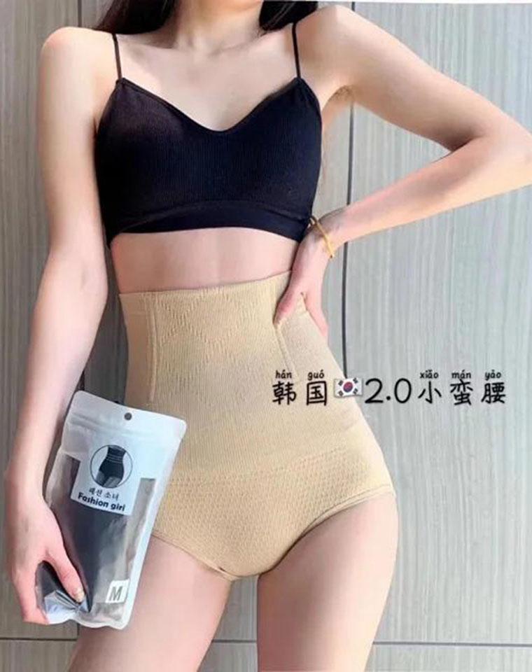 你们一定都需要 !仅24.9元 韩国2.0超高腰鱼骨  蜂巢塑形内裤