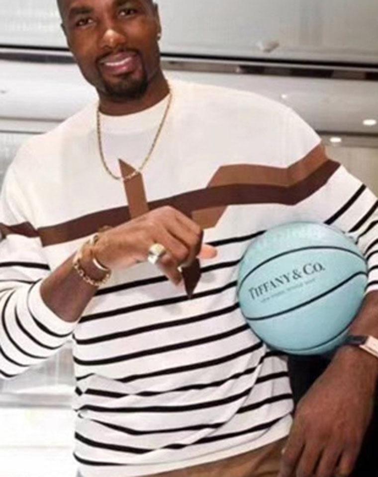 给男娃的最爱!男女通吃的神仙色 限量好货!!仅295元Tiffany&Co Spalding斯伯丁 联名篮球