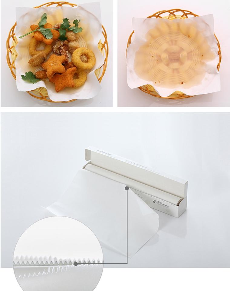 好吃不怕长胖!!家用好物 多囤!!!仅9.9元   厨房吸油纸 油炸食物专用烘焙纸 烤肉纸 烧烤防油纸