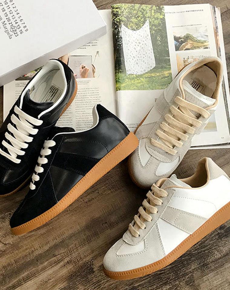 完全就是谁穿谁好看  仅285元  Maison Margiela  mm6纯正原单德训鞋
