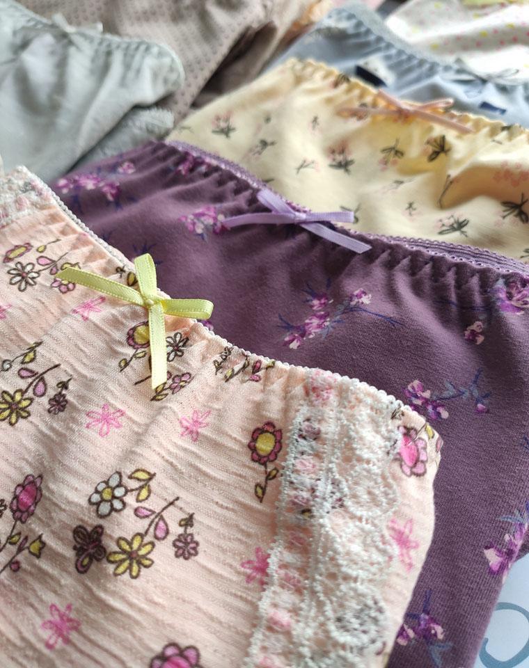 涨价了 但是太好了必须接着团!仅11.9元 纯棉的 日本黛安芬原单  舒适纯棉  高腰无痕内裤