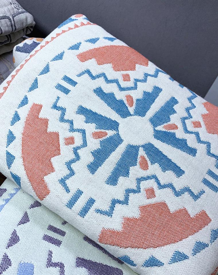 简约北欧风   一对2只!!仅29元 多色四层纯棉纱布 透气细腻柔软一对大尺寸枕巾