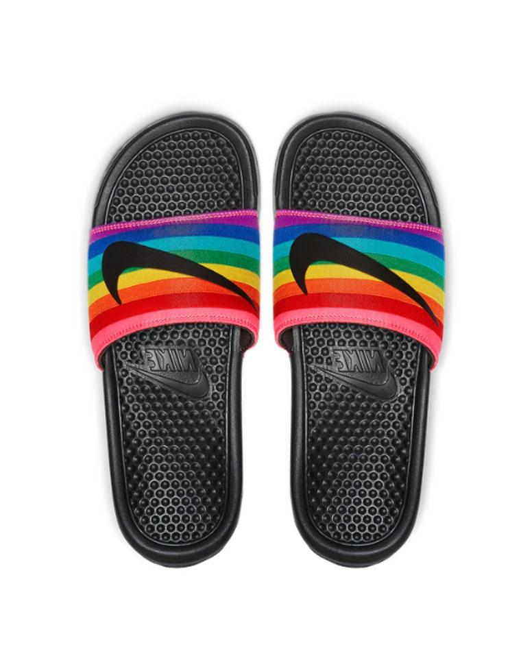 超值捡漏  男女款 仅68元  Nike BENASSI JDI 耐克字母Logo 沙滩凉拖鞋  男女款 拖鞋