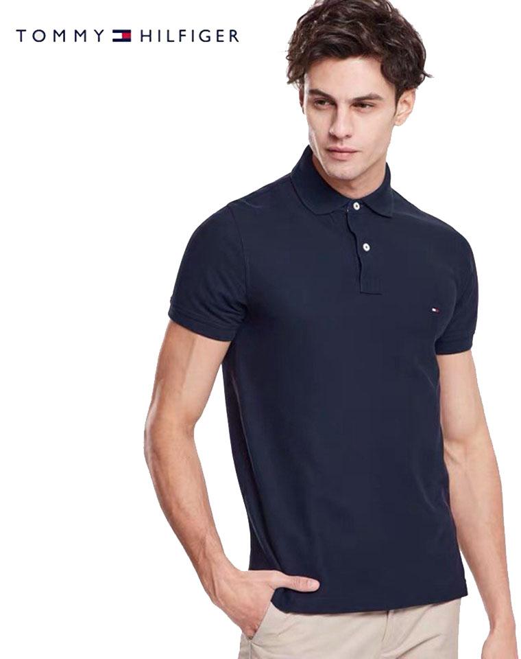 给纯爷们的福利  仅128元  美国Tommy Hilighfer汤米纯正原单  两个款 纯棉高端POLO衫 短袖T恤