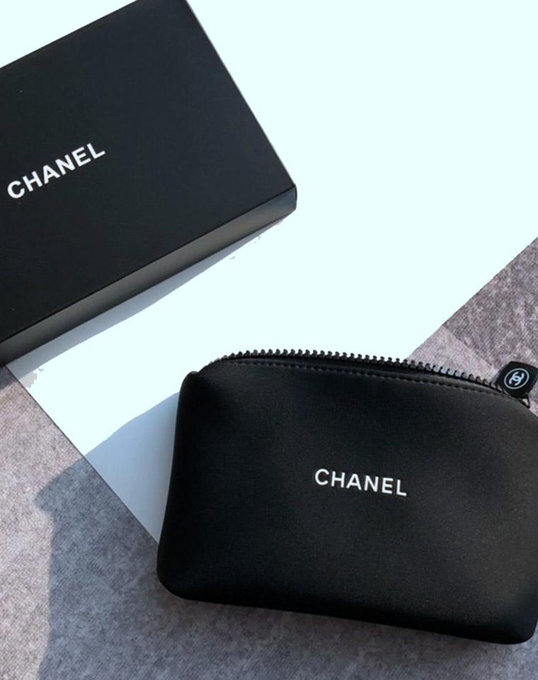 一颗大白菜!容量大!颜值高! 仅48元   Chanel 品牌Vip赠品化妆包