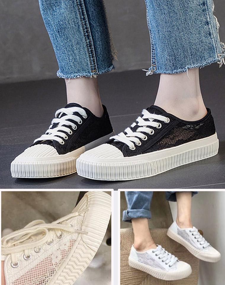 小众不撞鞋  舒服不撞脚 最新蕾丝饼干鞋  仅69元  真正代工厂Excelsior bolt透气蕾丝饼干鞋 帆布单鞋