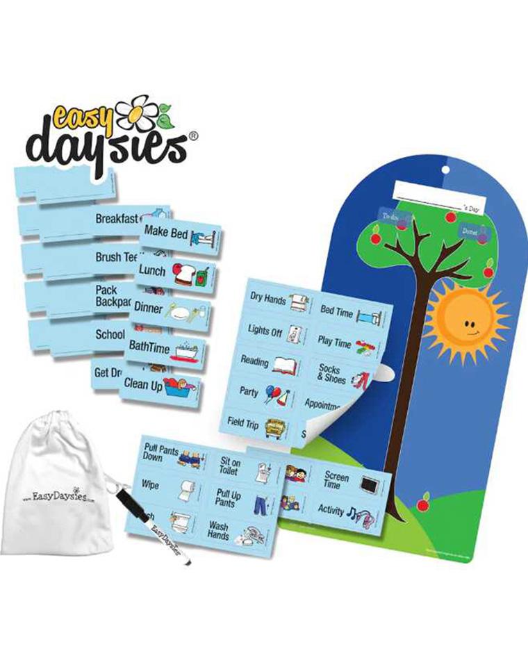 培养时间管理の神器   孩子受用一生!!仅29.9元   加拿大Easy daysies 儿童时间管理表 贴纸磁性挂件 专柜20美刀!