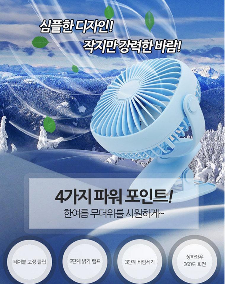 太实用!!给娃来一个!!仅45元!!韩国SSG品牌订单尾数  带灯万能夹小风扇 还带2档柔光小夜灯哟