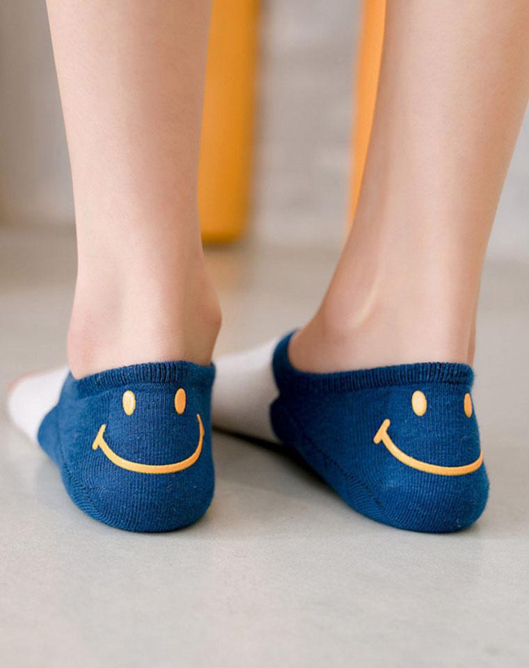 后跟笑脸  防滑,防掉跟  仅5.8元  春夏棉质船袜 浅口隐形袜子 吸湿排汗女短袜