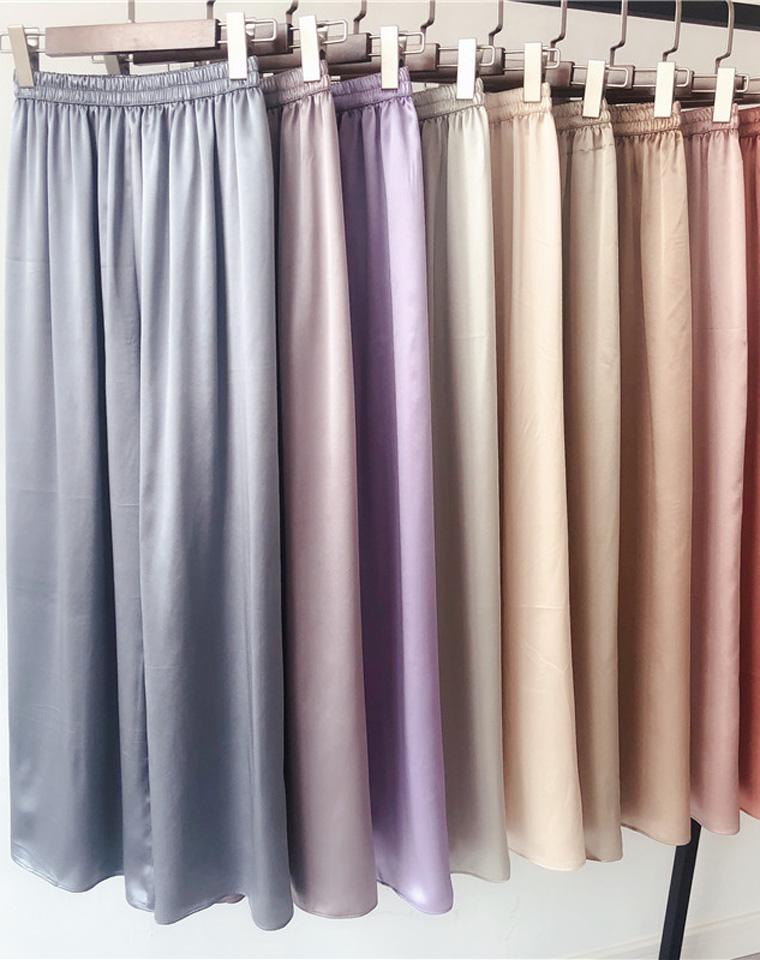 最养人的真丝!承包了这个夏季的真丝双绉  仅168元  超好品质  2020最新多色真丝 桑蚕丝 阔腿裤