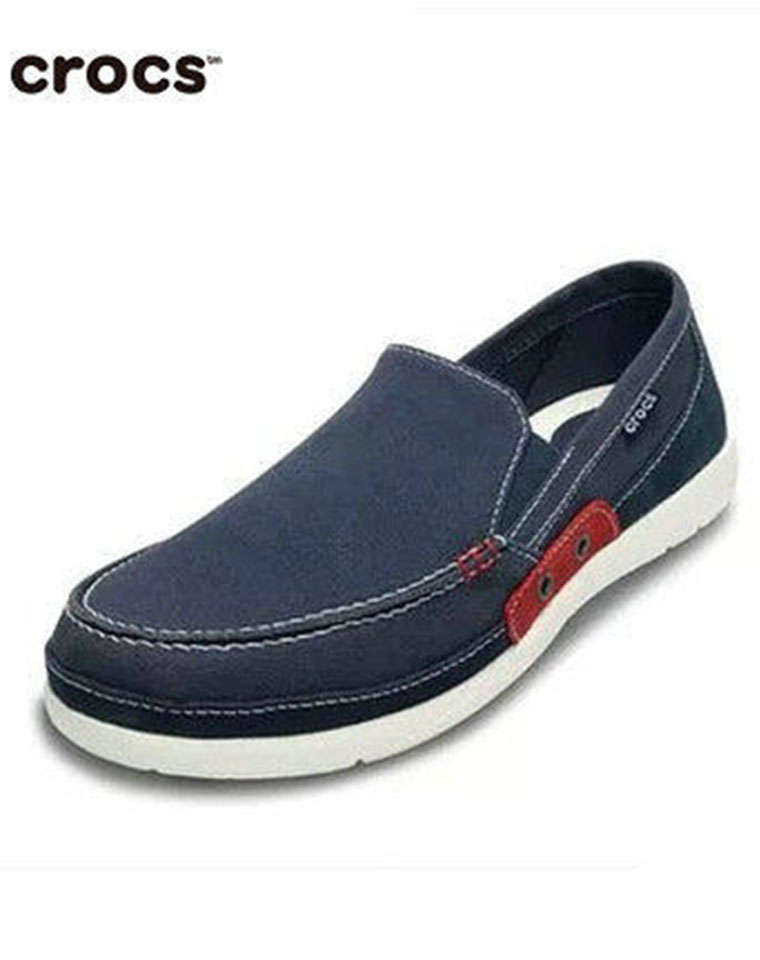父亲节给孩儿爸  给老爸  仅128元  Crocs卡骆驰最新沃尔卢系列  赤足鞋 休闲帆布鞋