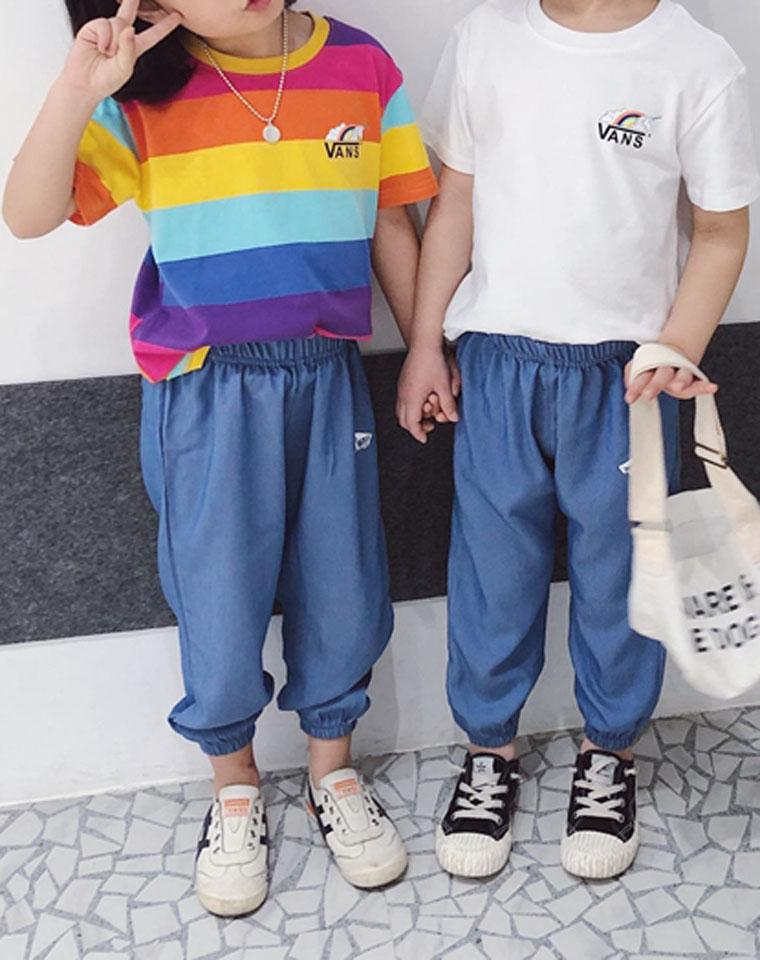 厉害了!娃们最爱的独角兽  男童女童皆可 仅69元 VANS万斯纯正原单一批   短袖防蚊裤套装