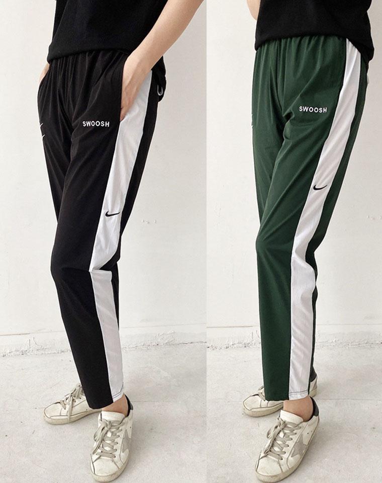 超牛性价比!仅95元  NK双钩系列 设计太精彩  速干收口薄款卫裤