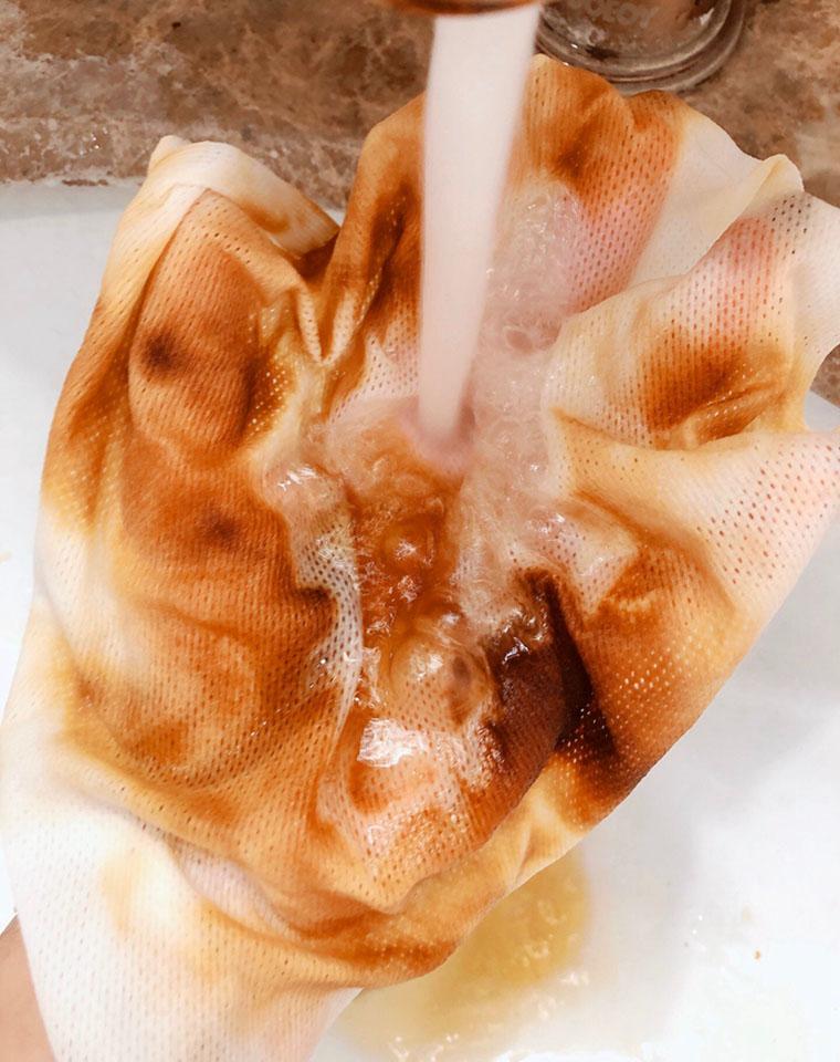 10送1!!超值福利  9.9元厨房革命,认准真正长绒棉一次性抹布 万能巾