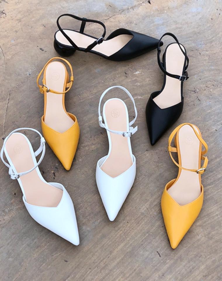 无可替代的尖头   上脚超时髦  法式复古气质  仅248元   美国The Row 纯正原厂原楦V口尖头鞋