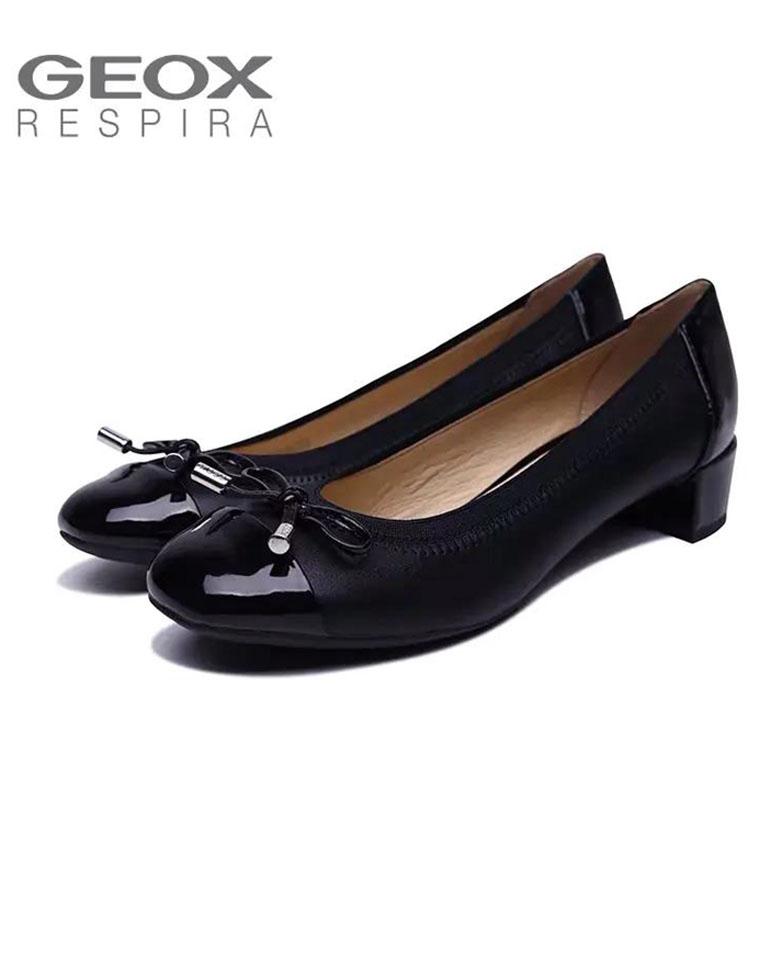 超值捡漏两个款! 仅268元   Geox纯正原单乐福女鞋 方跟女鞋,意大利百年老牌,会呼吸的鞋子~