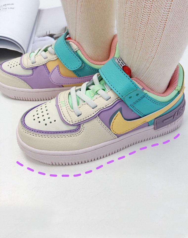 男娃女娃的空军鞋!颜值完美走一波!!仅148元  Nike Air Force 1 最新  男童女童 空军一号