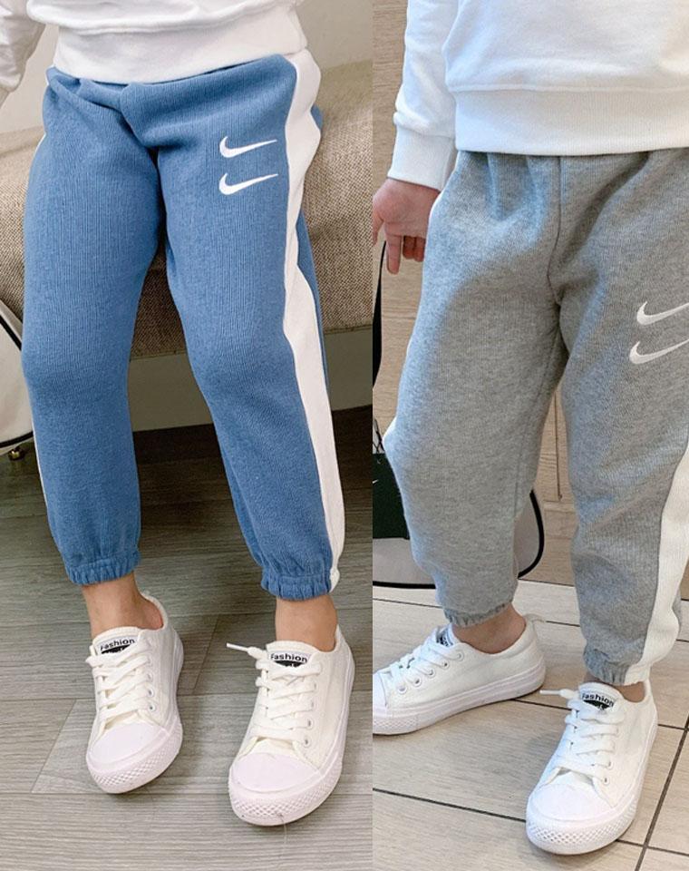 男女童糖果色运动裤 仅59元 2020秋装新款 耐克双勾儿童休闲款