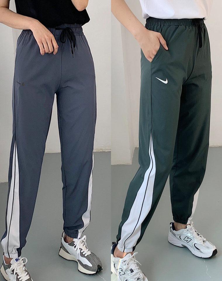 好货别错过!仅95元  NIKE 2020最新 DRY-EX系列速干面料  不规则拼接 收口卫裤