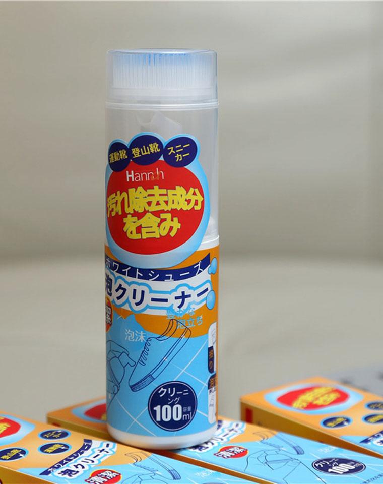 小白鞋救星 一擦就白  仅9.8元  小日本Hannh订单 简单方便的小白鞋清洁剂 免洗去污泡沫 多用途清洁