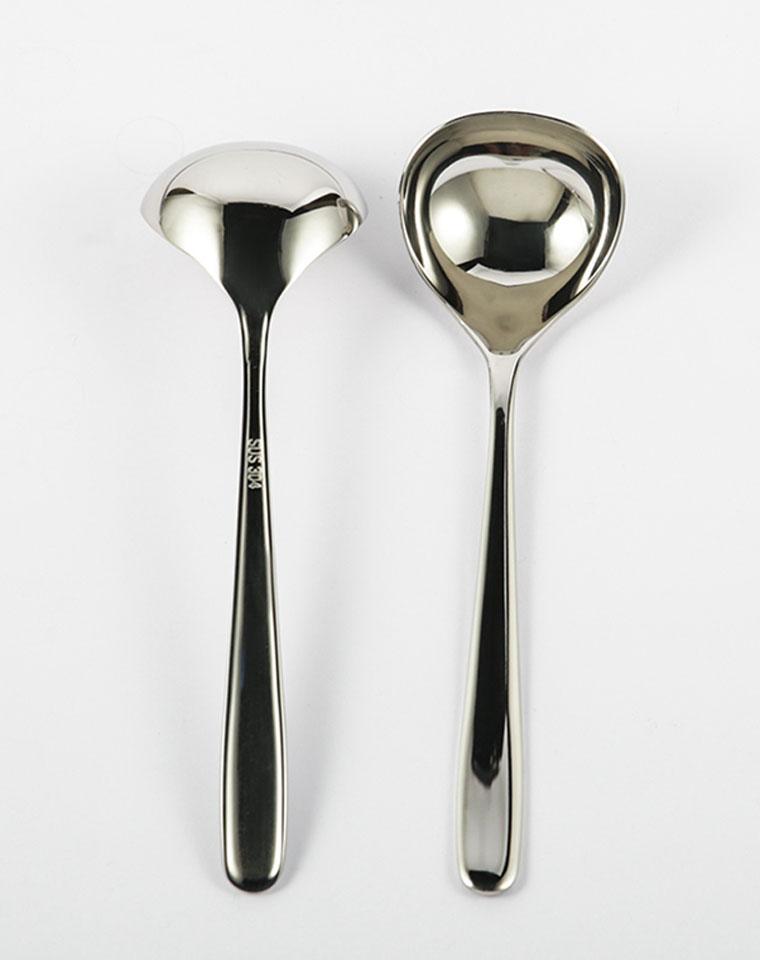 就是想要的! 仅12.5元  304食品级不锈钢!多功能分汤勺 加厚长柄 深餐勺