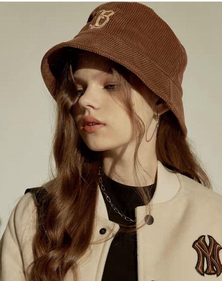最IN的灯芯绒渔夫帽!就是气质 !男女款 仅55元  一眼就爱!瞬间减龄! MLB纯正原单 最新秋冬渔夫帽