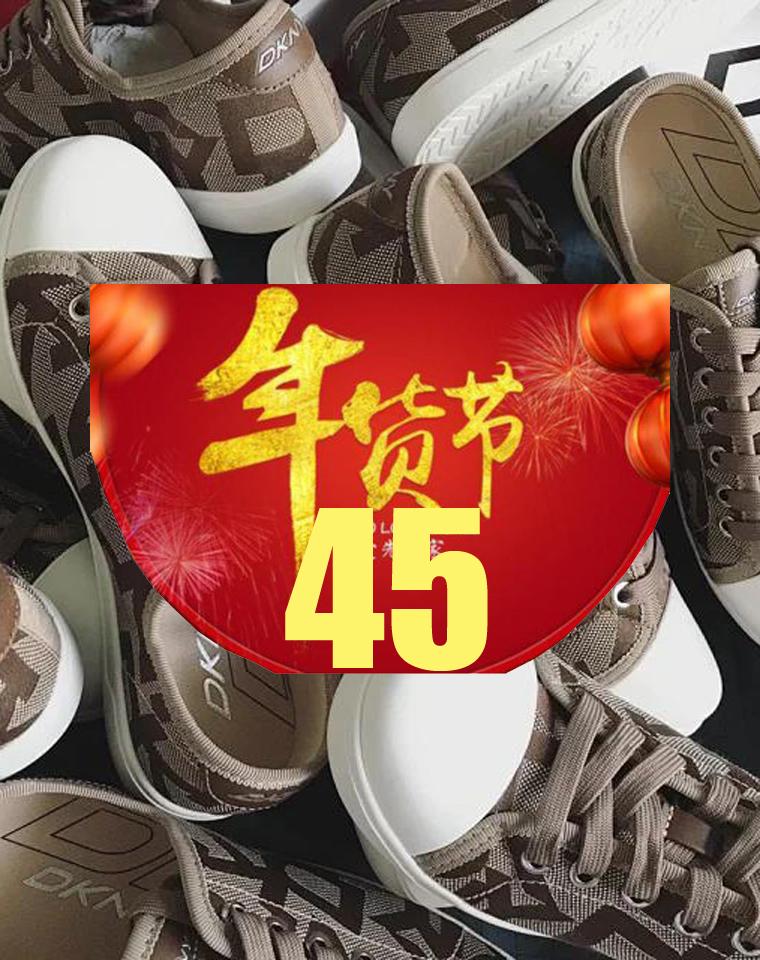 又双叒福利 代购1000+  仅58元 美国DKNY纯正原单 超简约 时尚女低帮透气帆布鞋 系带休闲女鞋