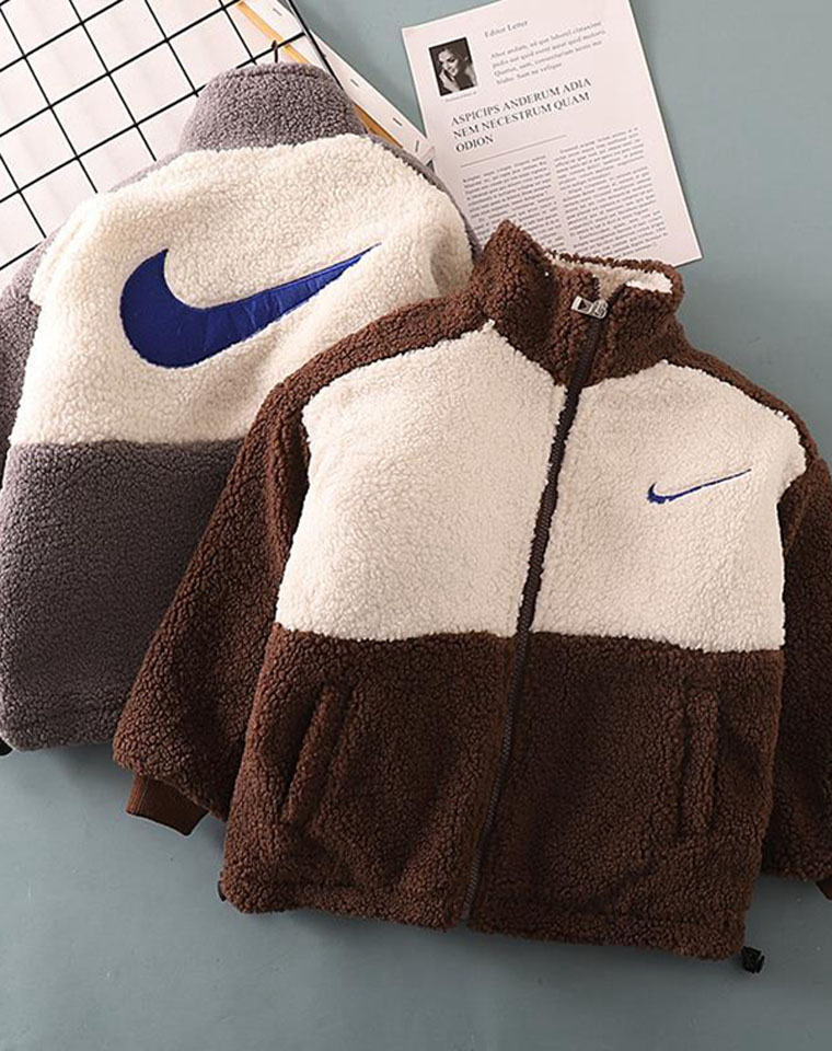 亲妈必收 后背大钩子  男童女童都好穿!仅98元  泰迪绒夹棉 保暖外套
