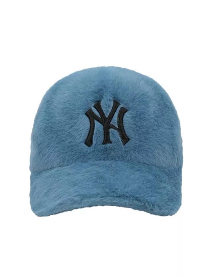 至IN毛绒鸭舌帽 瞬间减龄 超显脸小 仅89元 MLB纯正原单  年ins风毛绒鸭舌帽