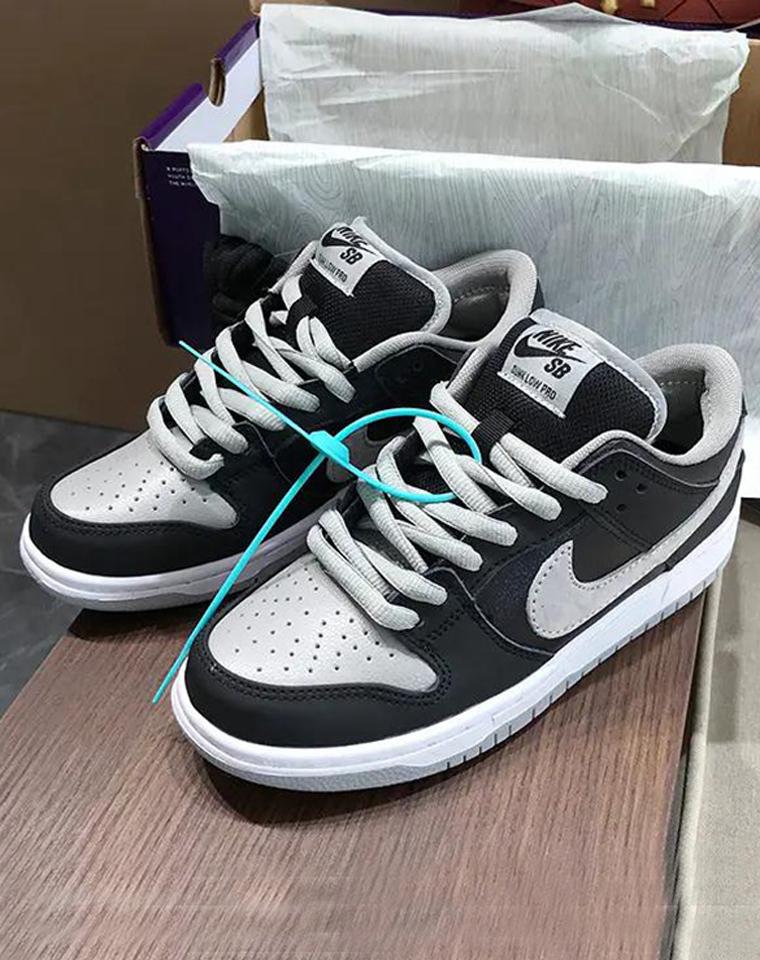 一双影子灰 搭配你的所有 男女款板鞋  仅248元 dunk sb系列蕞火 男女运动鞋