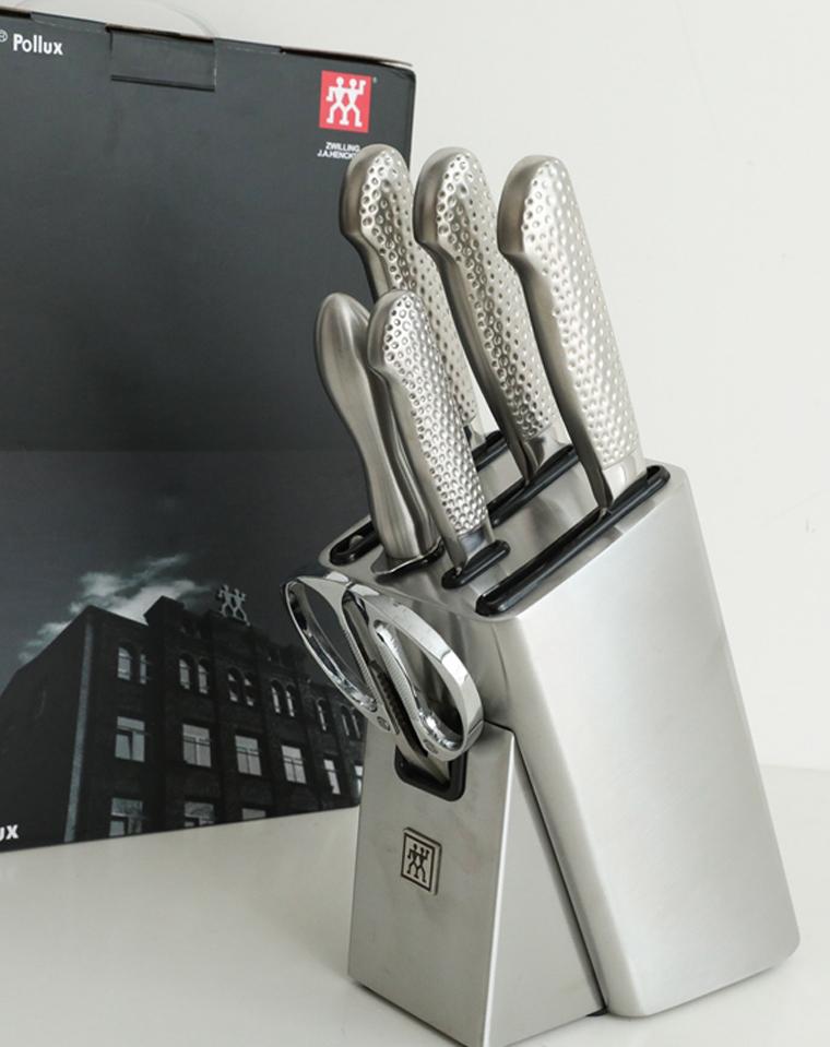 德国Zwilling J.A.Henckels!!双立人正品原装 仅298元!!  锤纹系列刀具7件套装!