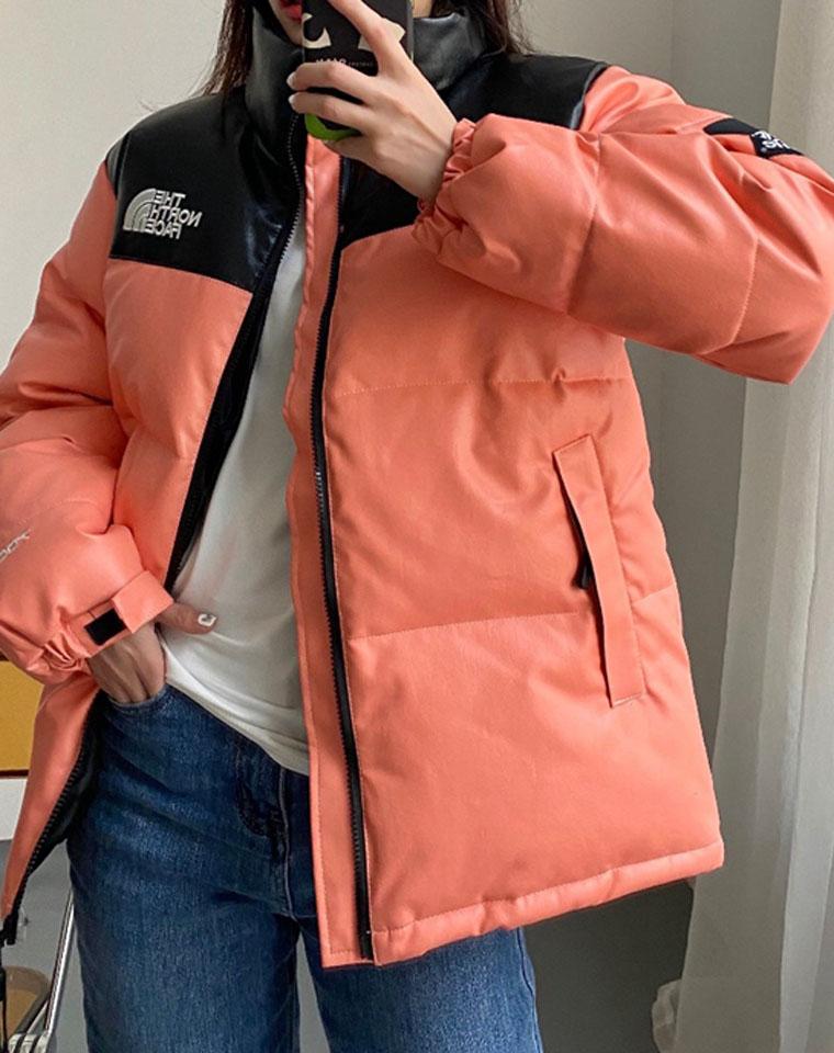 年货节  超经典男女款   仅128元   The North Face北面Supreme联名款  户外  经典拼色 加厚男女棉服
