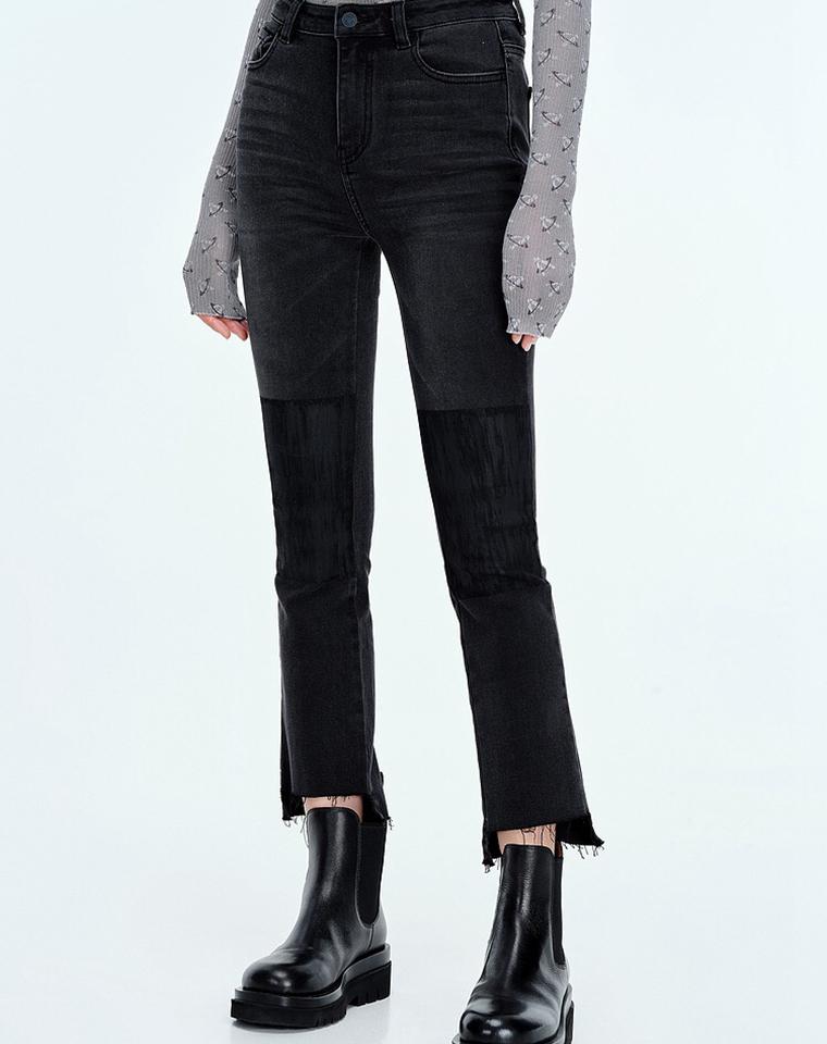 超重工 高端深浅设计超显好  仅118元  DAZZLE纯正原单 超好品质  微喇9分牛仔裤