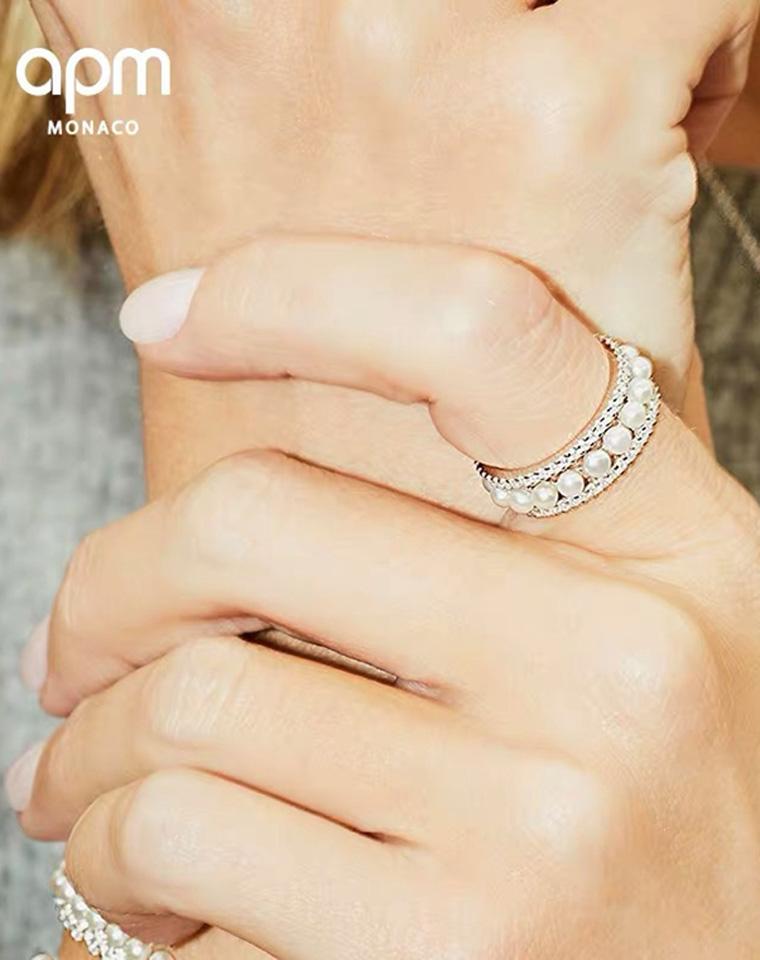 大方走专柜  特殊渠道 仅118元  128元  珍珠小蛮腰首饰系列合集 戒指 耳钉项链