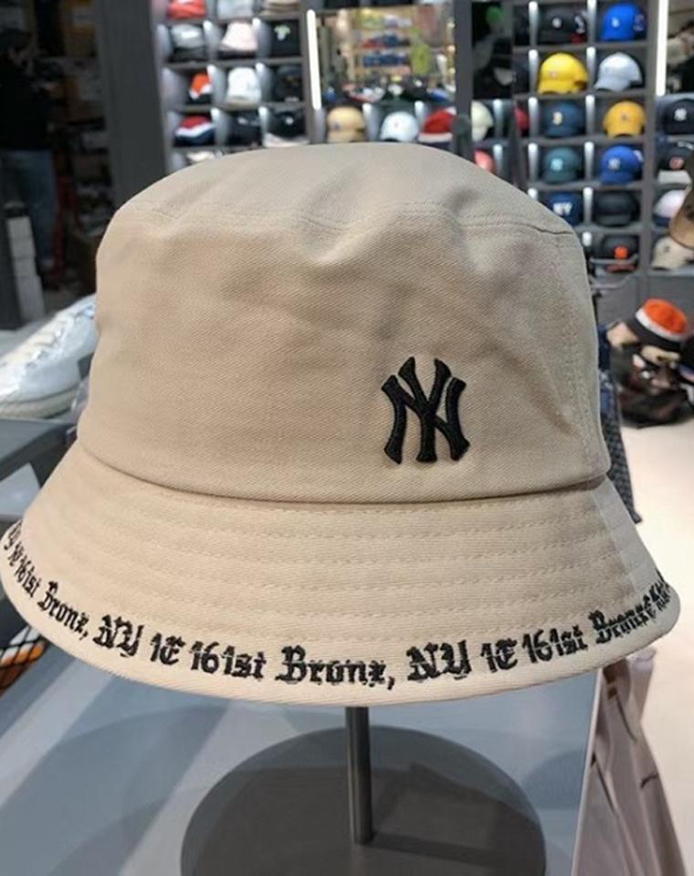 超全品相一单过 仅65元  NY刺绣渔夫帽 版型超好!男女款!