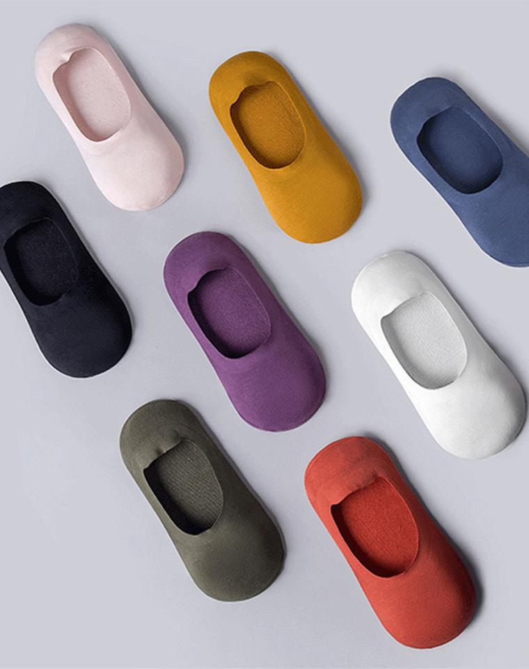 最好穿就它了!男女都有  仅5.99元  高品质隐形!男女款!一片式百搭舒适短袜子船袜