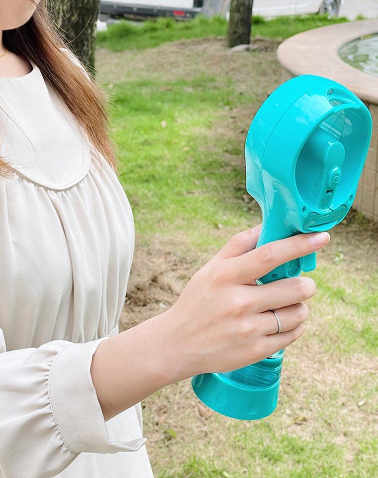 能喷雾能补水  闭眼收  仅39元  美国O2COOL纯正原单  模拟自然  凉风便携高杯补水喷雾风扇