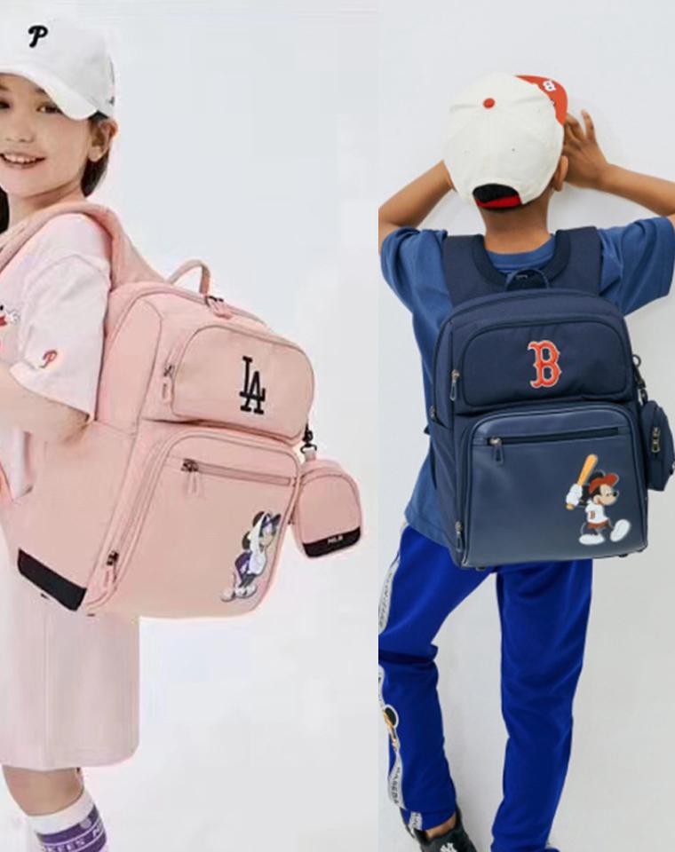 超值三件套!可验货仅198元  MLB联名DISNEY迪士尼三件套 双肩包 手提袋 小收纳三件套