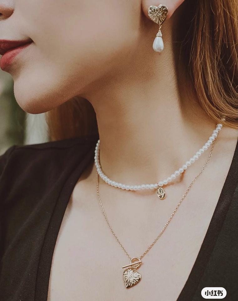 美颜暴击  仅98元 118元 128元  Onchic爱心珍珠首饰系列