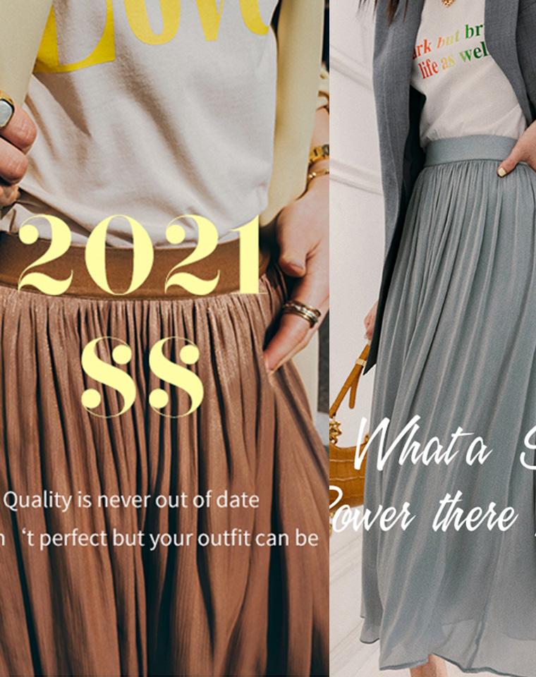 超美流光半裙  360度无死角  仅99元 自带高级流  飘逸优雅 轻盈透气半身裙百褶裙