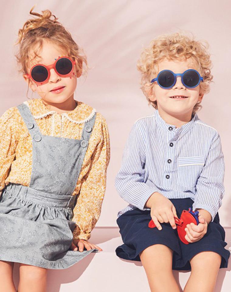 颜值爆表  防紫外线 360度任意弯曲  仅79元 Olivio纯正原单  儿童防紫外线太阳镜
