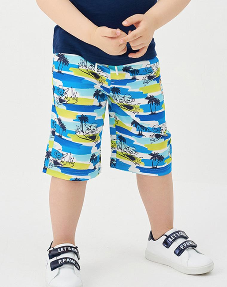 超好品质  亲妈必收 仅45元  PawinPaw订单 男童速干沙滩裤  五分短裤