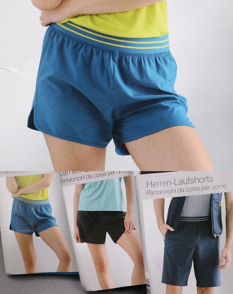 整单整箱好货 男女款带反光标  仅38元  德国CRANE轻量四面弹男女运动短裤
