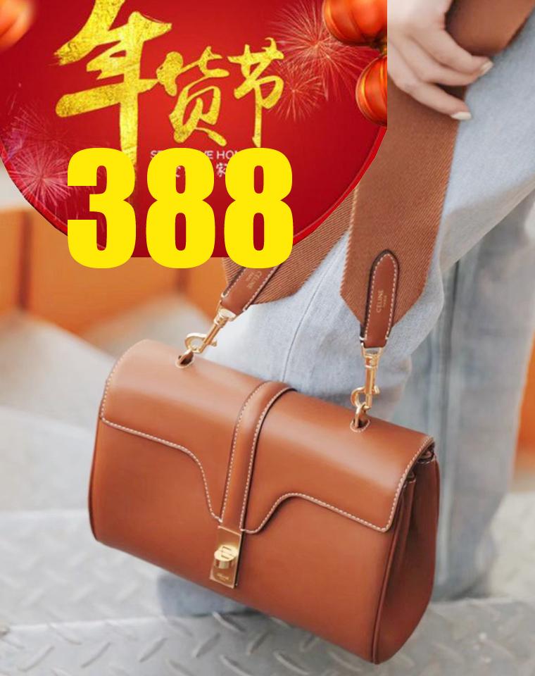 大表姐代言  给优渥女人  仅488元  Celine赛琳 高端Teen Soft 16 牛皮手袋